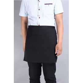 Apron Half Black with Pocket