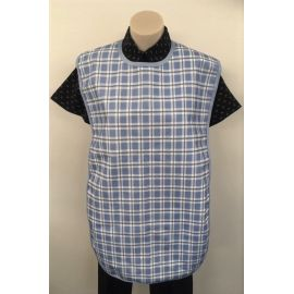 Cloth Protector Check Blue 170620