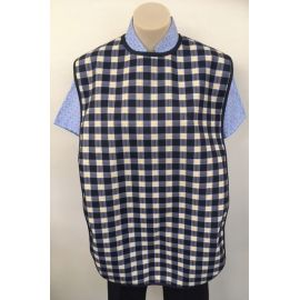 Cloth Protector Check Navy 170630