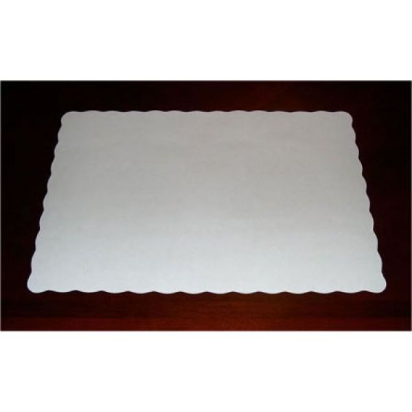 Placemat Disp White-200